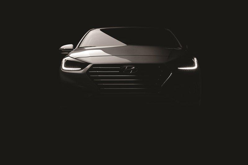 Hyundai Accent 2018 lộ diện trước ngày ra mắt
