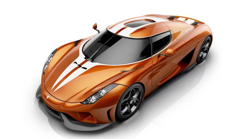 """""""Kẻ thống trị"""" Koenigsegg sẽ có thêm phiên bản màu vàng cam"""