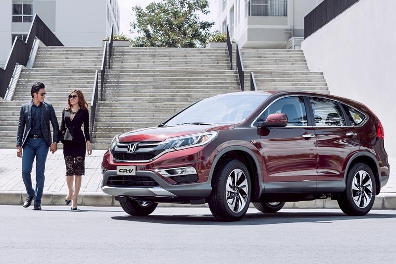 """""""Lộc vàng đầu xuân"""" dành cho khách hàng mua Honda CR-V"""