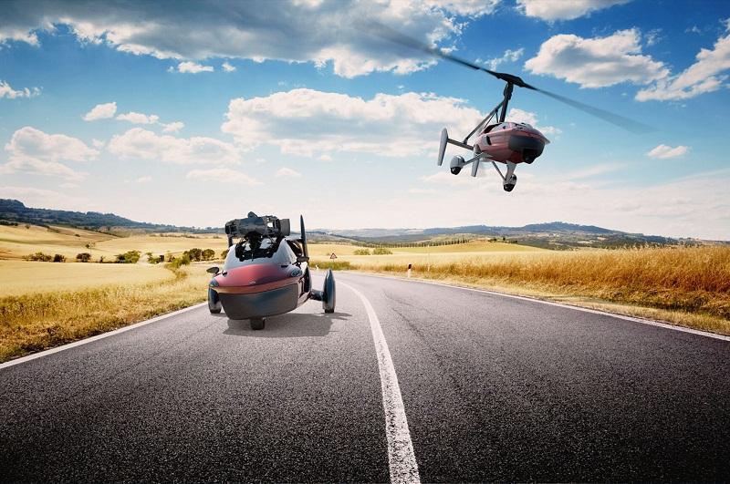 Cận cảnh ô tô bay có giá từ 399.000 USD tại Hà Lan