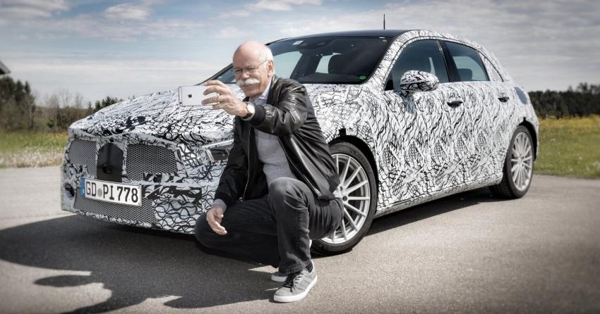 Giám đốc điều hành Mercedes-Benz tiết lộ hình ảnh A-Class 2018