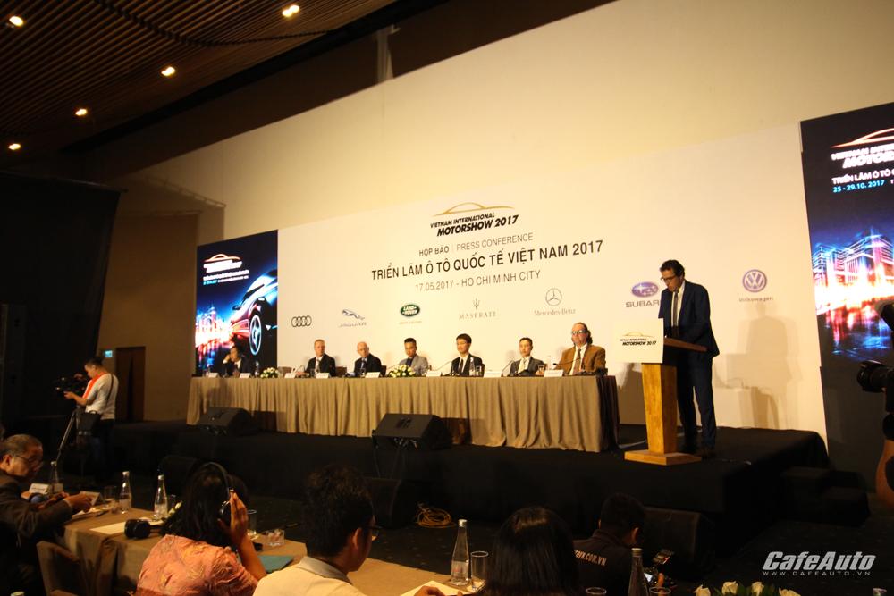 Nhiều thương hiệu xe nhập khẩu không tham gia VIMS 2017