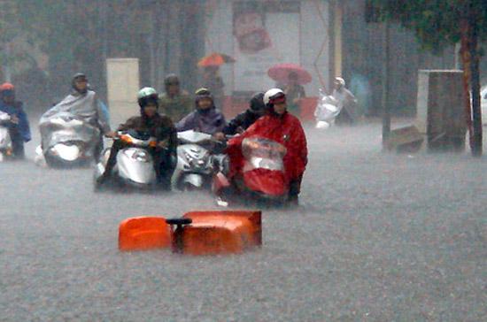 Xử lý khi xe máy ngập nước?