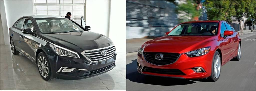 Tư vấn: Mua Hyundai Sonata hay Mazda6