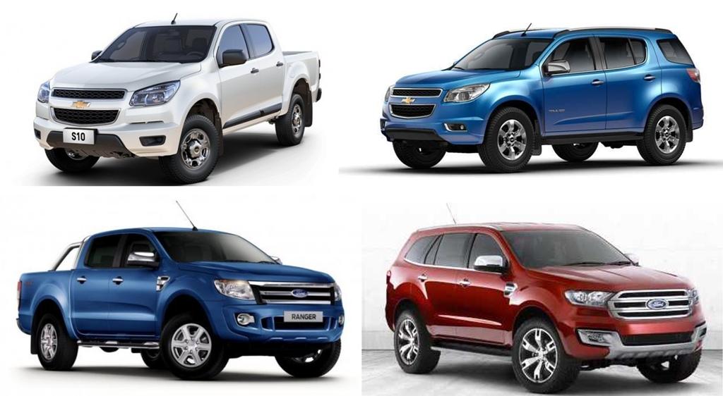 Tư vấn: Nên mua bán tải hay xe SUV?