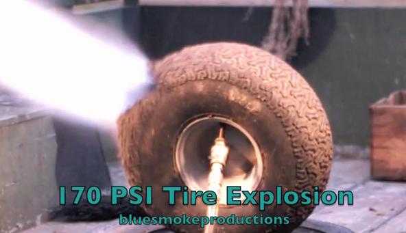 Nổ lốp nguy hiểm như thế nào?