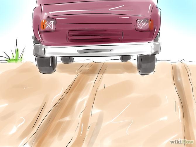 Làm thế nào để lái xe qua bùn lầy