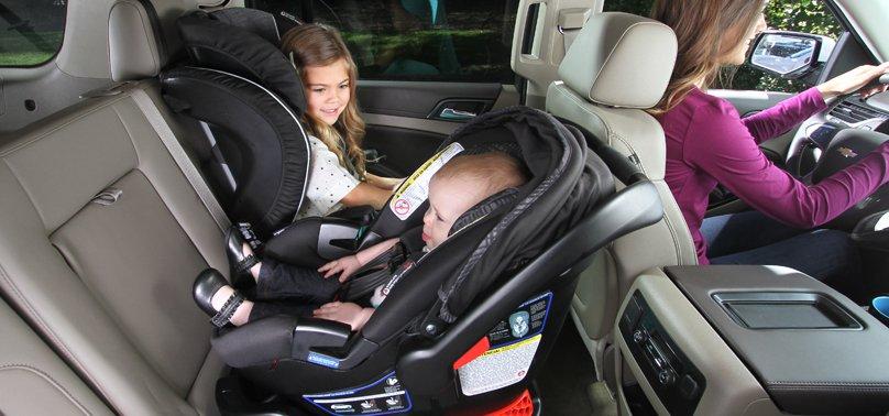 Ghế nâng cho trẻ trong ô tô quan trọng thế nào?