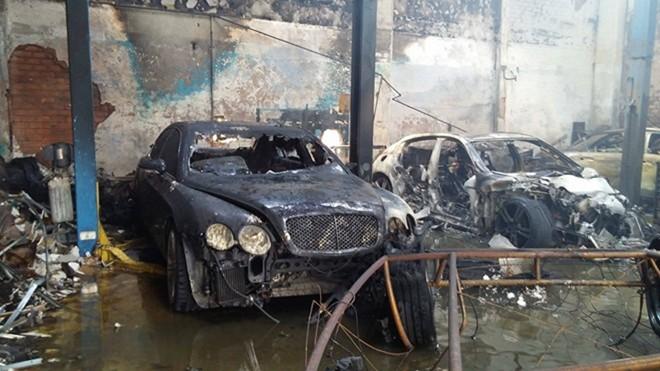 Những nguyên nhân có thể khiến garage xe bị cháy nổ