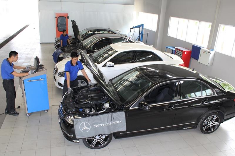 Khách mua xe sang tại Việt Nam được bảo hành, bảo dưỡng như thế nào?