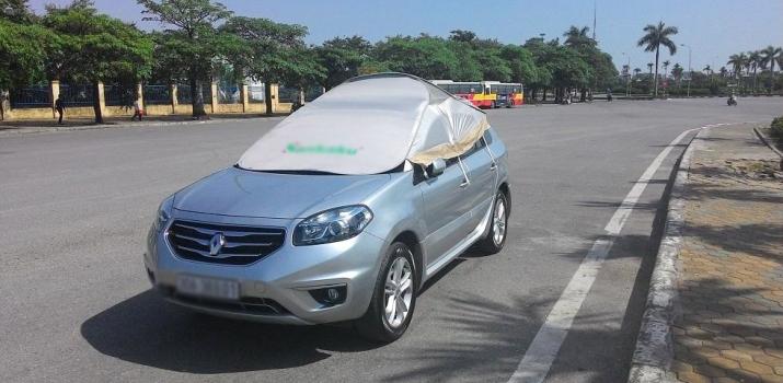 Những cách bảo vệ ôtô khi trời nắng nóng
