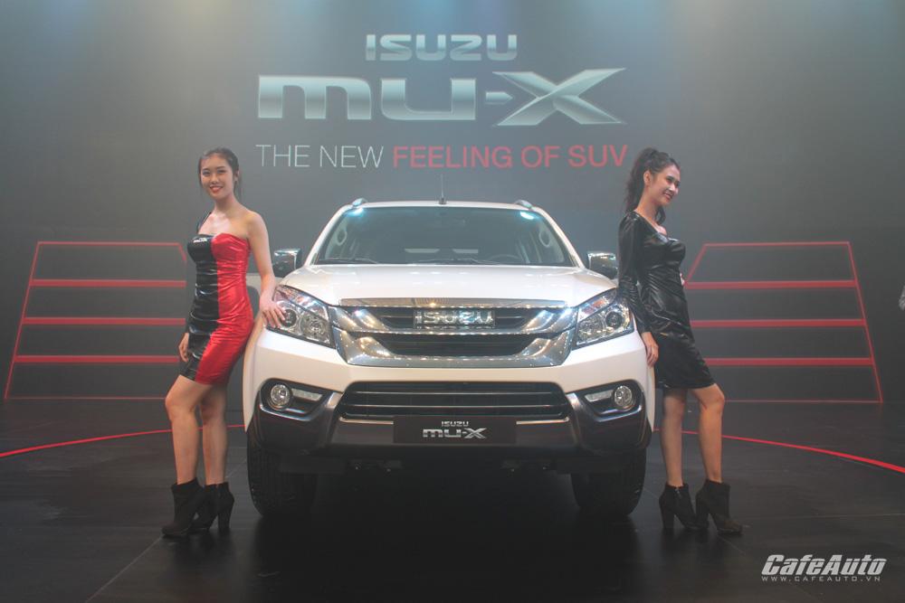 Giá từ 899 triệu đồng, Isuzu MU-X tạo lợi thế cạnh tranh với các đối thủ