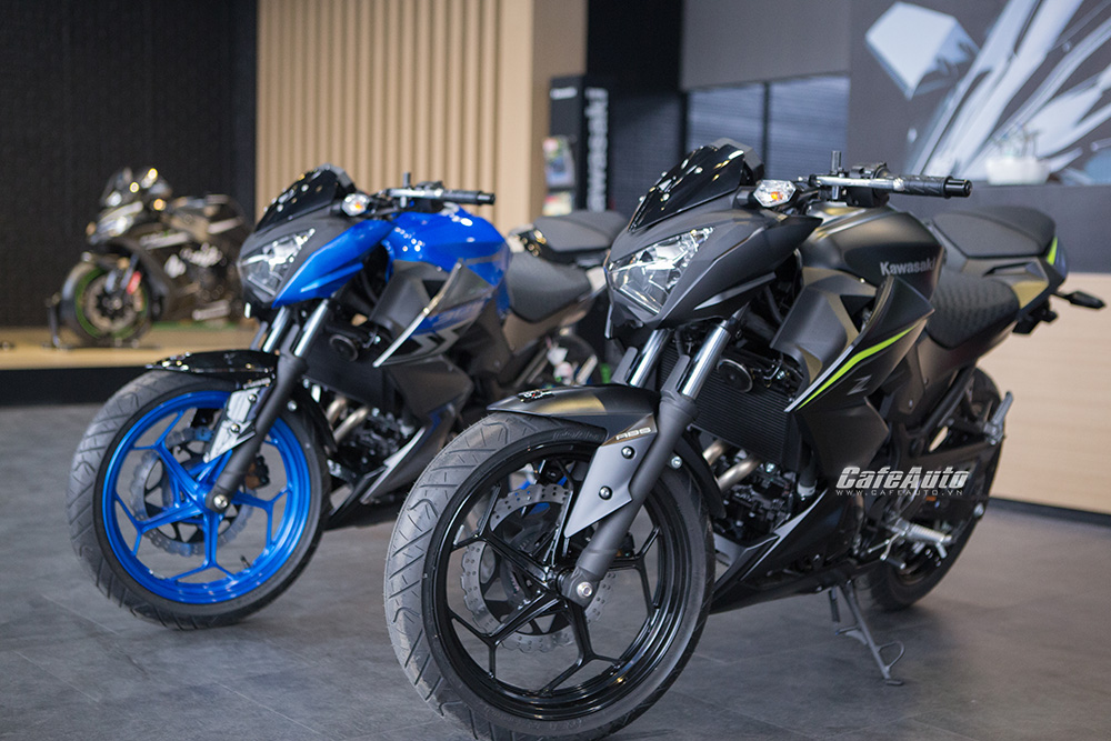 Kawasaki Z300 2018, Nakedbike Nhật giá rẻ