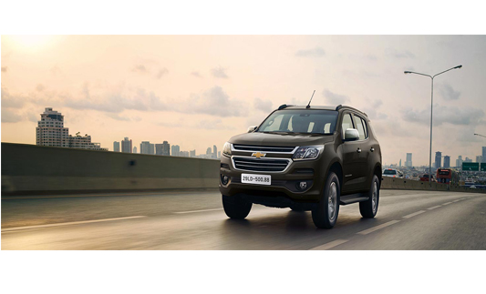 Chevrolet Trailblazer 2.5L VGT 4x4 AT LTZ SUV/Crossover 2018