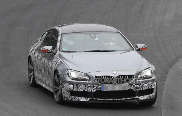 BMW M6 Gran Coupe trên đường thử