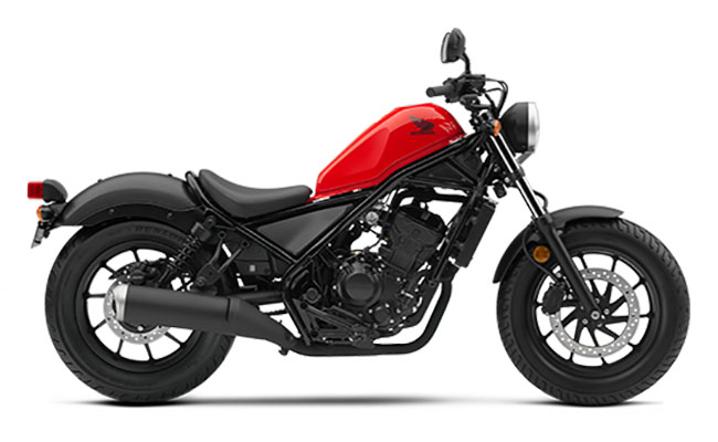 Honda Rebel 300 Nakedbike 2018