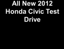 2012 Honda Civic Test Drive