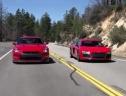 Cuộc đua giữa Nissan GT-R và Audi R8