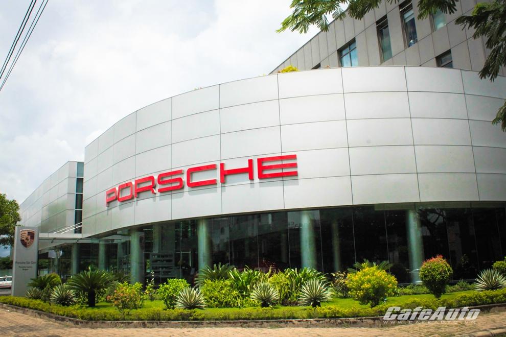 Bên trong showroom Porsche Sài Gòn có gì ?