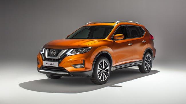 Nissan X-Trail 2018 mới ra mắt, kiểu dáng bóng bẩy hơn