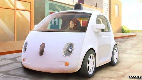 Google tự sản xuất xe tự lái
