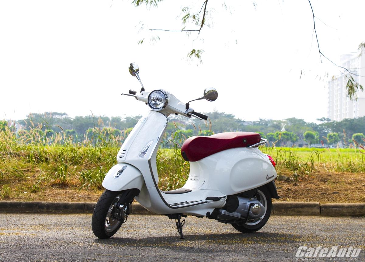 Piaggio thu hồi 10.072 xe Primavera tại Việt Nam