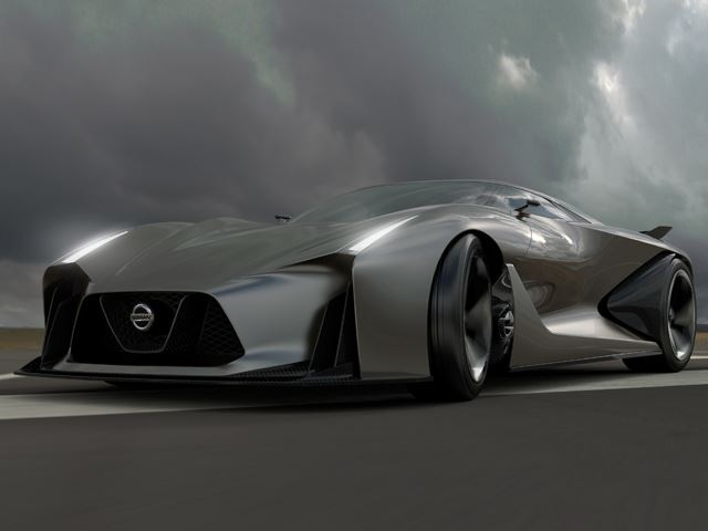 Nissan Vision Gran Turismo Concept 2020: lộ diện tương lai