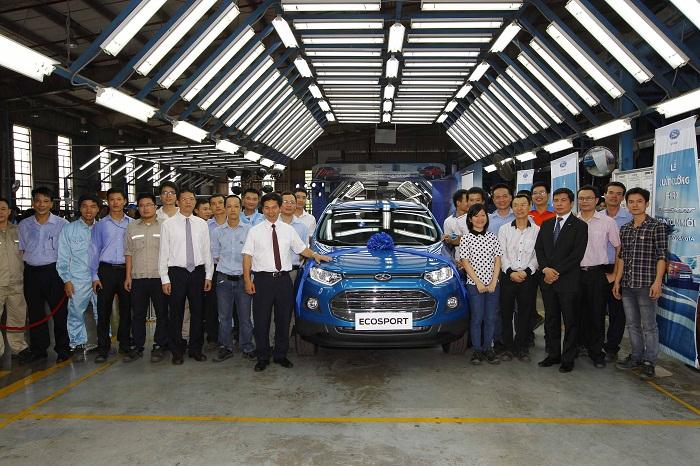 Ford EcoSport xuất xưởng tại Việt Nam