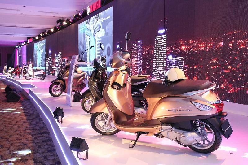 Yamaha Nozza Grande ra mắt với giá trên trời