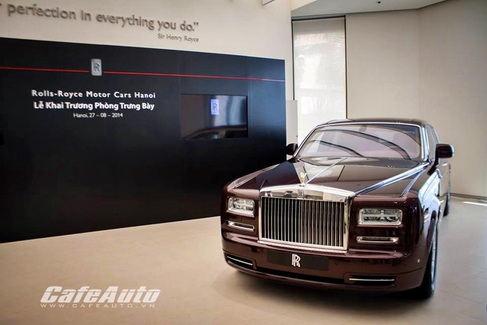Chính thức khai trương showroom Rolls-Royce Hà Nội