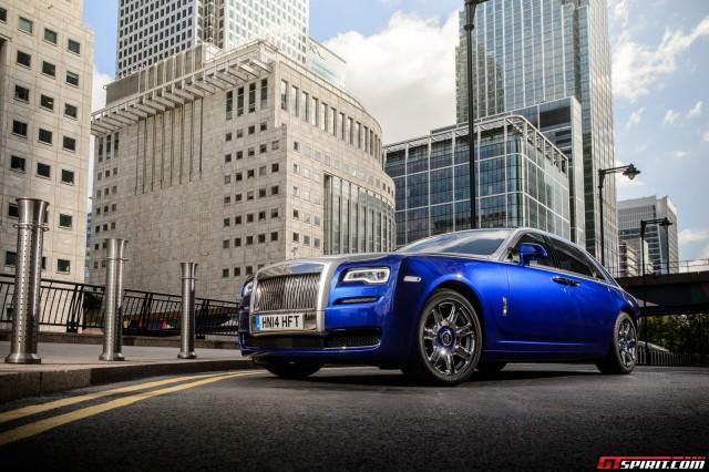 """rollsroyceghostseries2blue640x426 1411986543 Ngắm nhìn xe sang Rolls Royce đang """"bán đắt như tôm tươi"""""""