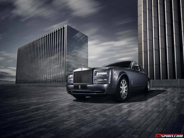 02 1412353995 Hãng xe Rolls Royce tung Phantom bản độc