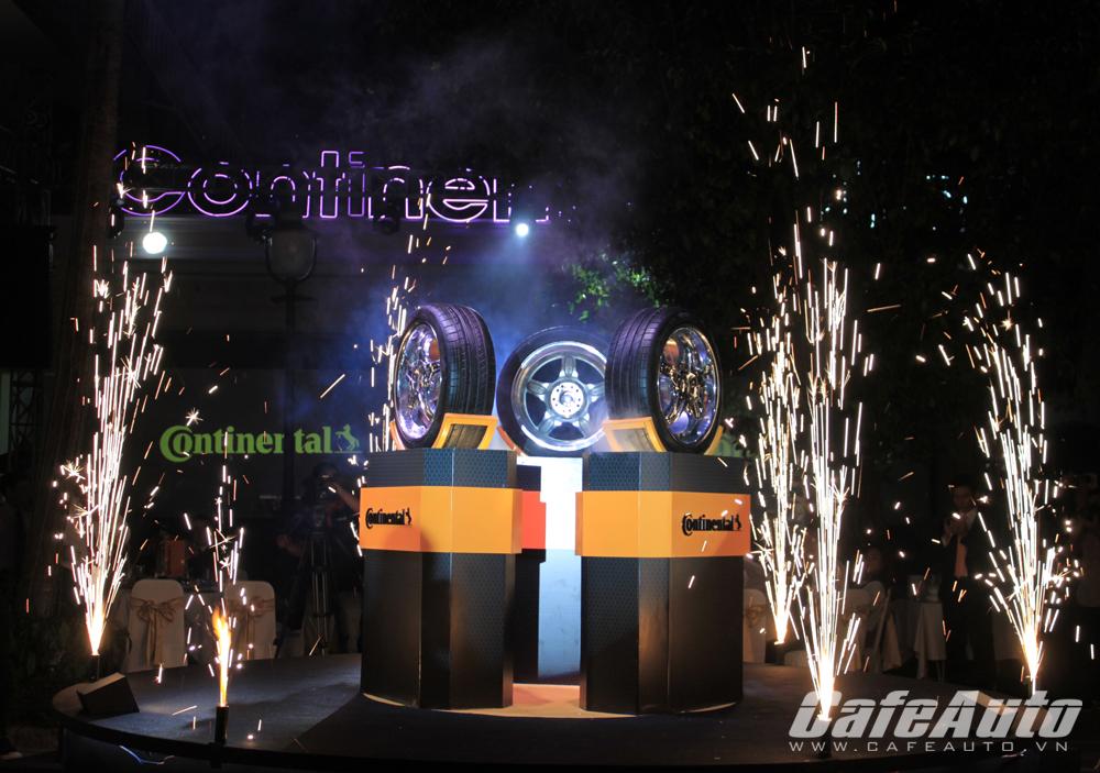 Lốp cao cấp Continental Tires chính thức ra mắt tại Việt Nam