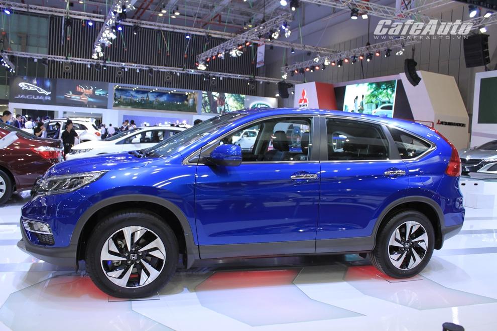 VMS 2014: Honda giới thiệu Civic và CR-V 2015