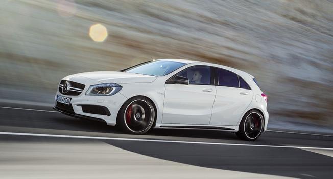 a45amg 653 1416929787 Trình làng Mercedes Benz A45 AMG sẽ có phiên bản mạnh mẽ hơn