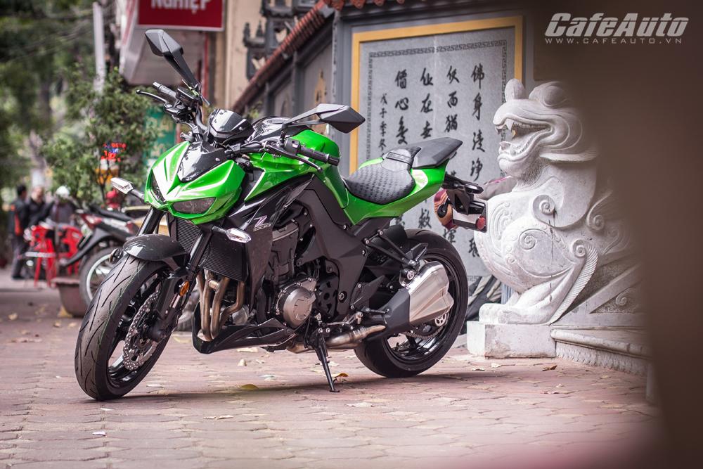 Cận cảnh Kawasaki Z1000 2015 giá 500 triệu đồng tại Hà Nội