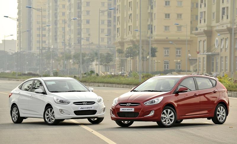Hyundai Accent Blue 2015 lên kệ với giá từ 551,2 triệu đồng