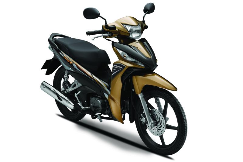 k03y chart gold 1425985344 Honda Wave 110 RSX: thêm màu mới, giá không đổi