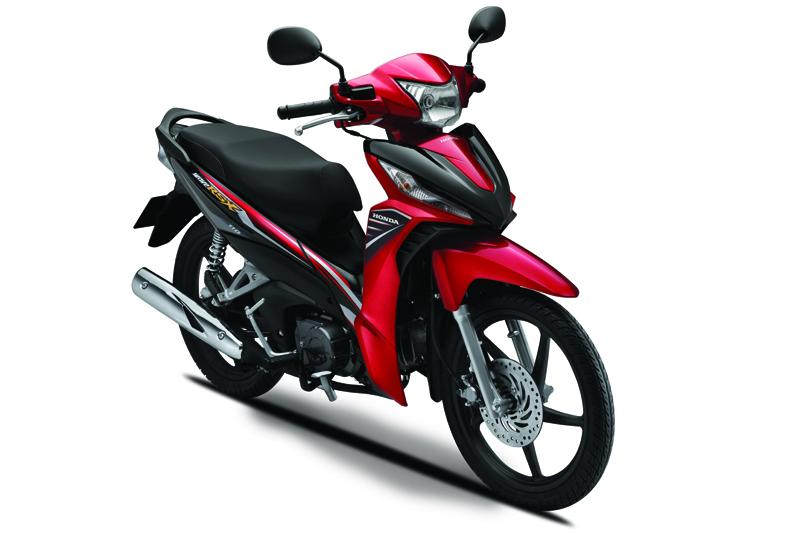 k03y chart red 1425985355 Honda Wave 110 RSX: thêm màu mới, giá không đổi