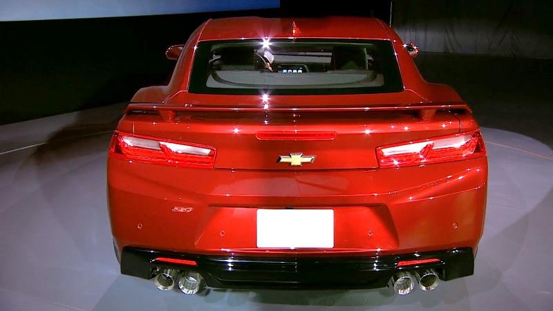 11 1431943262 Ngắm nhìn siêu cơ bắp Chevrolet Camaro 2016 chính thức trình làng