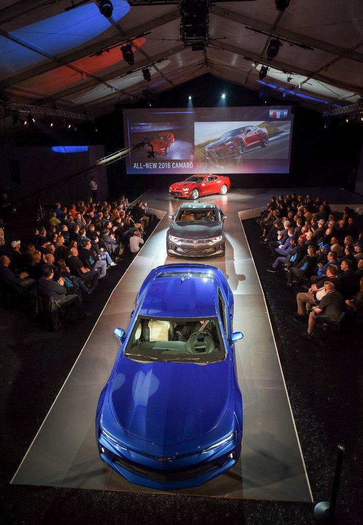 2 1431943199 Ngắm nhìn siêu cơ bắp Chevrolet Camaro 2016 chính thức trình làng