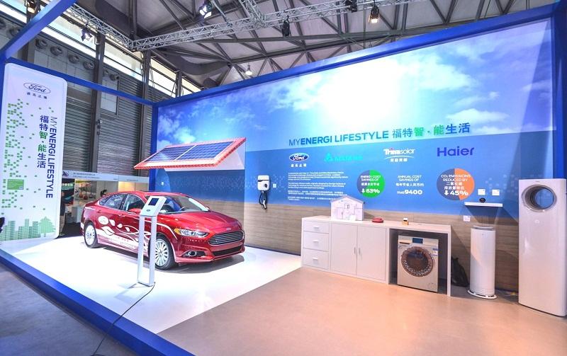 khong gian trung bay phong cach myenergi 1432734739 Hãng xe Ford trình làng hàng loạt công nghệ tại triển lãm CES Asia