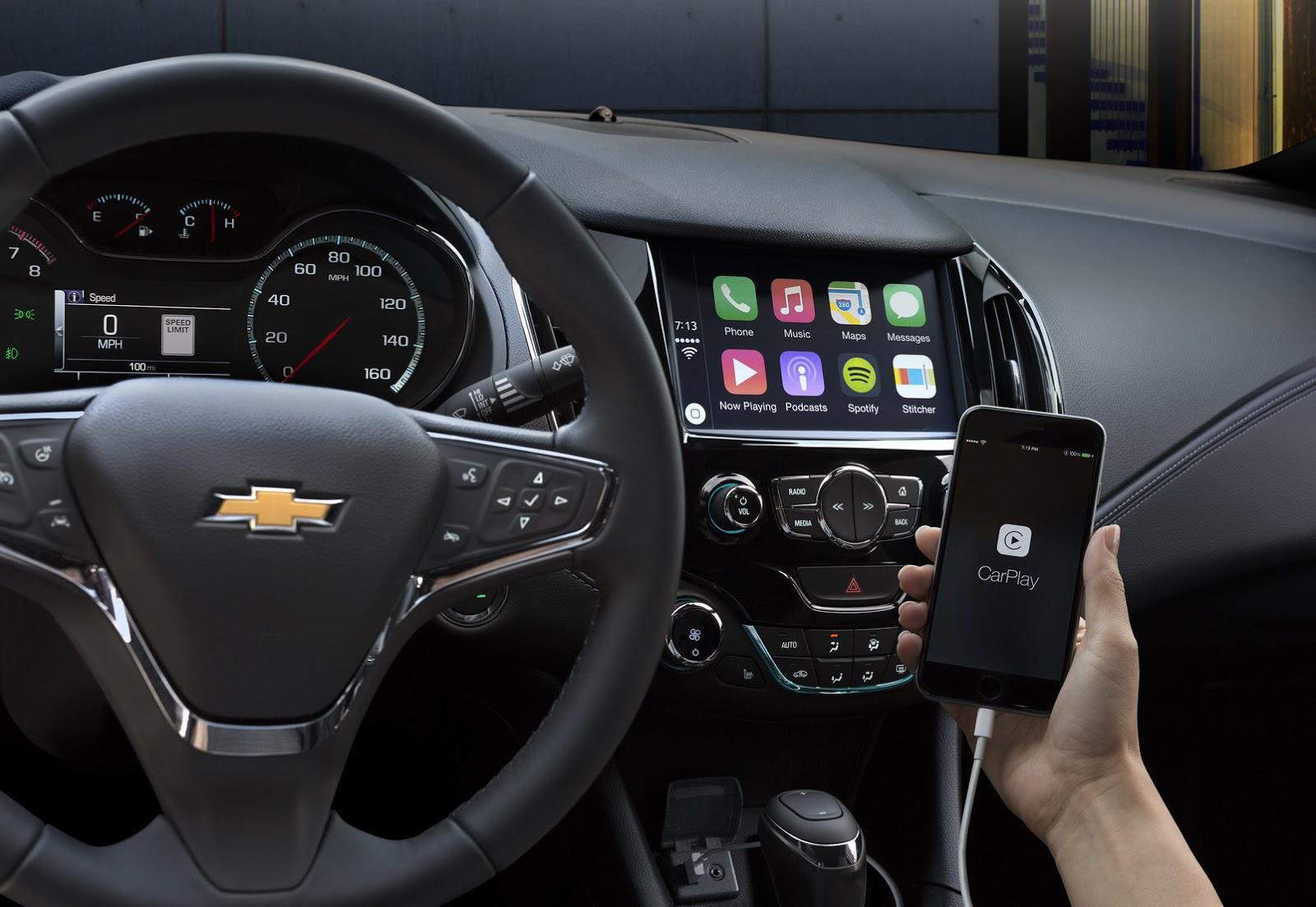 2016chevroletcruze10 1435224463 Ra mắt Chevrolet Cruze 2016, rộng hơn, nhẹ hơn và nhiều công nghệ