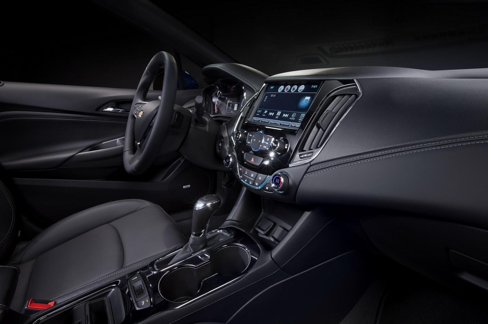 2016chevroletcruze11 1435224248 Ra mắt Chevrolet Cruze 2016, rộng hơn, nhẹ hơn và nhiều công nghệ