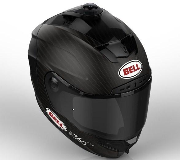 ... Nón bảo hiểm thể thao Bell trang bị camera xoay 360 độ
