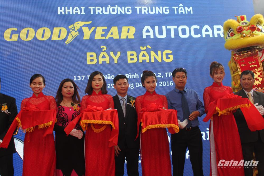 Goodyear triển khai thêm Trung tâm chăm sóc lốp xe Autocare Bảy Bằng