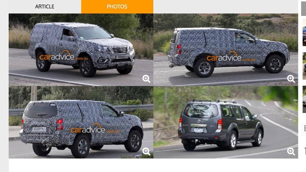 SUV mới của Nissan
