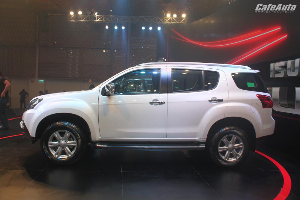 Isuzu MU-X – Chiếc SUV thực dụng giá hợp lý