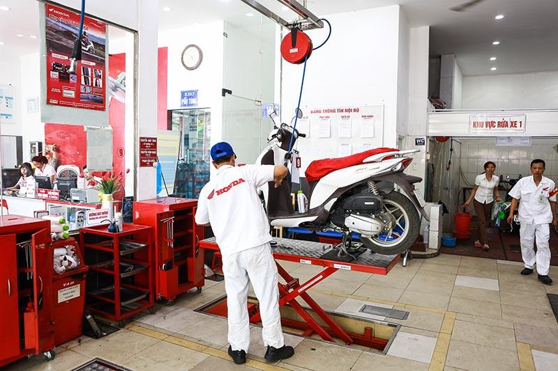 Chia sẻ kinh nghiệm bảo dưỡng xe máy cuối năm