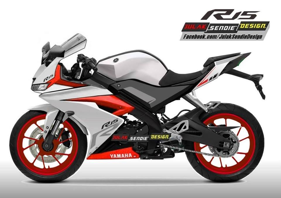 Yamaha R15 v3.0 sẽ có trang bị đèn pha LED